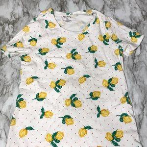 White Stag | lemon t shirt M